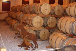 Im Slyrs Fasslager reift der Whisky in frischen, getoasteten Eichenfässern