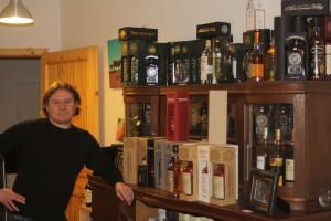 """Seit 2013 ist Michael Redel als """"Whisky Baron"""" in der Nürnberger Johannisstraße zu finden"""
