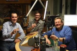 Der Whisky-Club Fränkische Schweiz zu Gast bei Bayern 1.