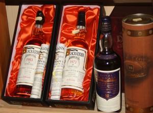 Im Whiskyfässla finden sich auch manch rare Schätze.