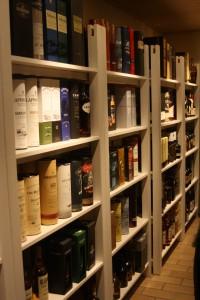 Hier findet jeder Whiskyliebhaber den richtigen Tropfen.