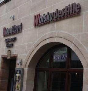 Der ehemalige Ayrer-Patrizierhof ist heute die Heimat des Nürnberger Whiskies.