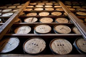 Bourbon Whiskey reift ausschließlich in frischen Fässern aus amerikanischer Weißeiche.