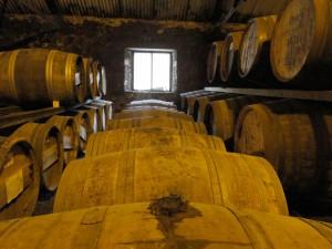 Das Fasslager einer Whiskybrennerei - ein magischer Ort.