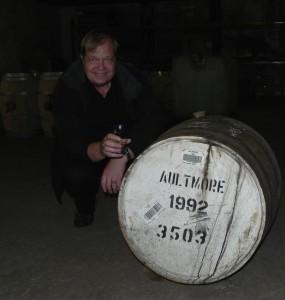 """Für sein Label """"The Whisky Chamber"""" spürt Thomas Ide immer wieder ganz besondere Einzelfässer auf. Foto: (c) T. Ide"""
