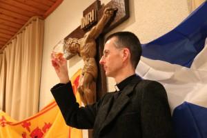 """Für """"Whisky-Vikar"""" Wolfgang F. Rothe verbinden sich Whisky und christliche Spiritualität. Foto: (c) W.F. Rothe"""