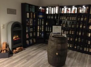 """Ein Blick in das """"Whiskywohnzimmer"""". Foto: (c) T. Skowronek"""