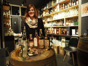 Mit ihrem Unternehmen Irish Whiskeys vertreibt Mareike Spitzer zahlreiche irische Spirituosen auch als Exklusivimporteurin. Foto: (c) M. Spitzer