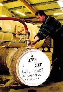 Bei Glenfarclas werden fast ausschließlich ehemalige Sherryfässer verwendet. Foto: John Paul