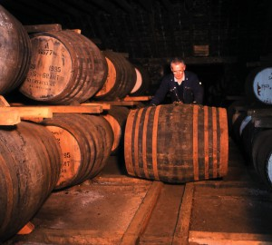De ältesten der 65.000 Fässer in den Glenfarclas-Warehouses wurden 1953 befüllt. Foto: John Paul