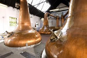 Die Pot Stills sind das Herzstück der Single Malt-Produktion. Foto: (c) Blair Athol Distillery/Diageo
