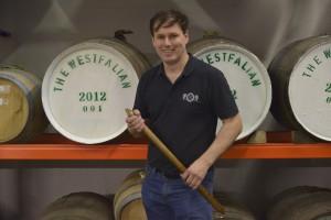 """Unter dem Markennamen """"The Westfalian"""" hat Thomas Ewers einen eigenen deutschen Whisky nach schottischem Vorbild ins Leben gerufen. Foto: (c) T. Ewers"""