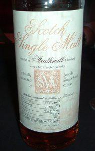 Auf den Flaschen des SSMC finden Whiskygenießer Einzelheiten über Destillation, Fassreifung und Abfüllung der Circle-Bottlings. Foto: (c) M. Miller