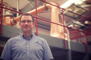 Shane Fraser: Perfektionist mit über zwanzig jähriger Erfahrung. Foto: (c) Wolfburn Distillery