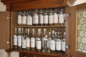 Jedes Jahr werden zehn bis fünfzehn Whiskyfässer für die Eigenbottlings von Alambic Classique abgefüllt.