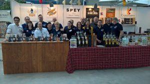 Neben den C&S Dram Bottlings präsentiert das Team um Andrea Caminneci ein breites Produktportfolio (hier auf der Finest Spirits 2016). Foto: (c) A. Caminneci