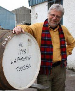 """Michael Reckhard: Ein Mann mit einem """"eskalierten Hobby"""". Foto: (c) mr.whisky"""
